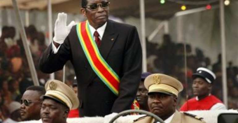 Kufuor in Togo for Eyadema's funeral