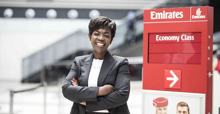 On Women's Day: Thriving In Aviation, Meet Sylvia Baah Emirates Airport Services Manager