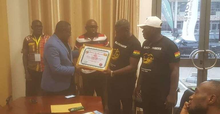 Black Bombers Show Appreciation To GOC