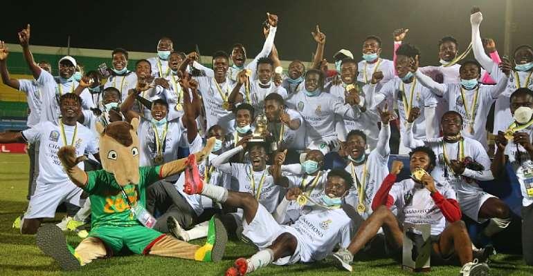 President Akufo Addo & Veep Bawumia congratulate Black Satellites for winning 2021 U-20 Afcon