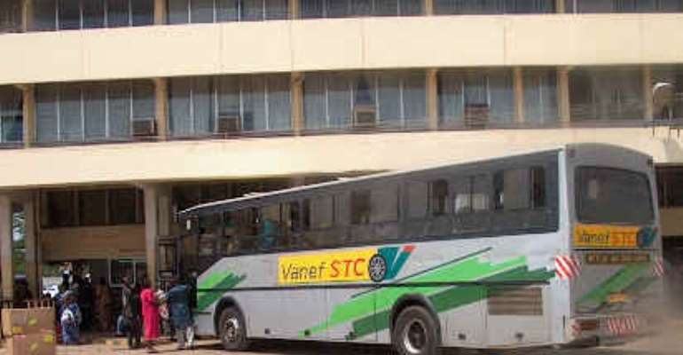 Highway Robbers Hold Up STC Bus & Rob Passengers