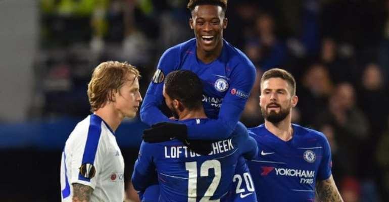 Hudson-Odoi Goal Seals Comfortable Chelsea Win Against Kiev