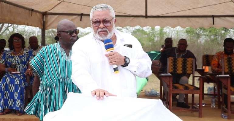 Rawlings Justifies Why He Skipped Kumasi Independence Day Parade