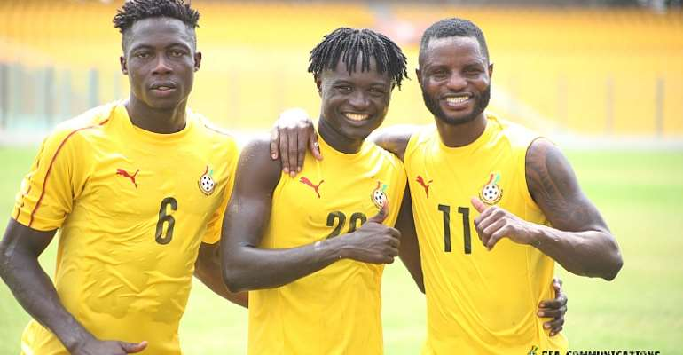 2021 Afcon Qualifiers: Twenty-four Black Stars players to report to camp