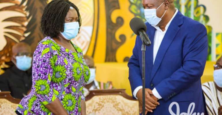 Our survival depends on an empowered woman – Mahama on International Women's Day