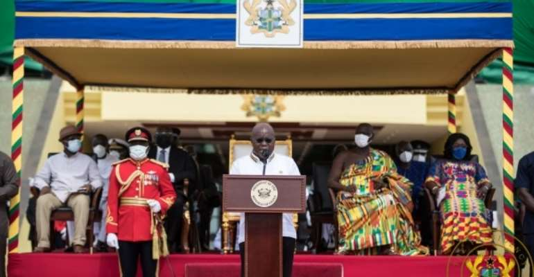 [Full text] Akufo-Addo's 64th Independence Day anniversary speech