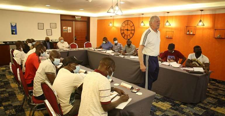 GFA's one-week refresher course for male national team coaches kicks off in Accra
