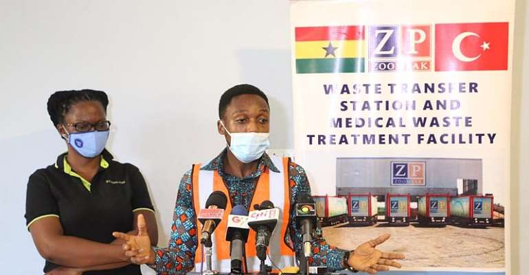 Ongoing Vaccination Exercise: Ministry  of Health partners  Zoompak to properly  dispose of  medical waste in Ashanti