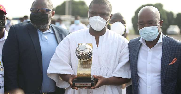 U-20 Afcon: Sports Minister leads delegation to welcome victorious Black Satellites