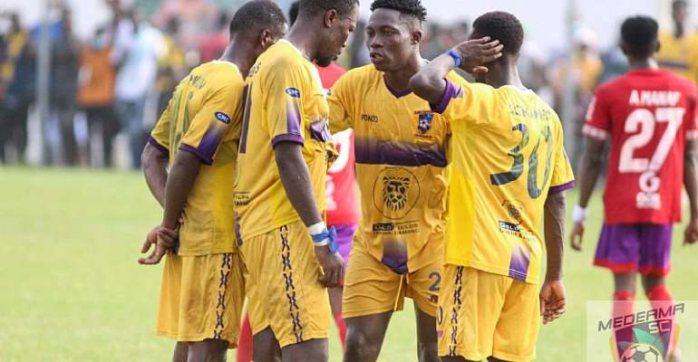 Medeama SC gives players four days break after ending first half of GHPL season
