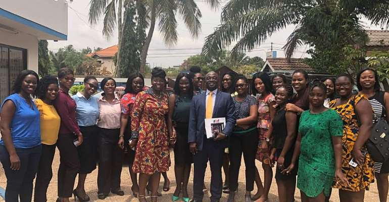 Global Media Alliance Hosts CEO Of Afribiz Group Limited On International Women's Day