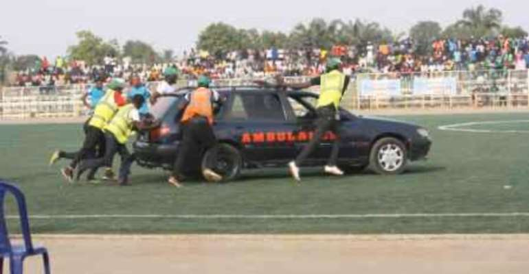 Nigerian Footballer Dies After Stadium Ambulance Fails To Start