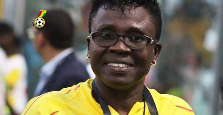 Black Queens head coach Mercy Tagoe-Quarcoo
