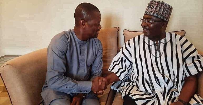 Demise Of Veep's Sister: NDA Boss Commiserates With Bawumia