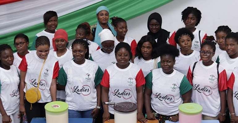 NDC TEIN UCC Ladies Organise