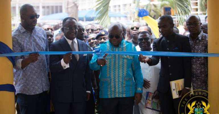 Akufo-Addo Says 962 SHS Infrastructural Projects Ongoing Nationwide
