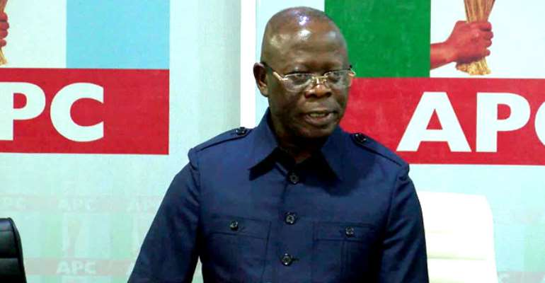 Oshomole's Exit Now Certain, As APC Governors Disown Him