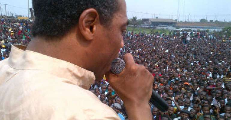 CELEBRITY QUOTE:'THE GOVERNMENT IS NOT ANSWERING OUR QUESTIONS' --AFROBEAT MAESTRO FEMI KUTI