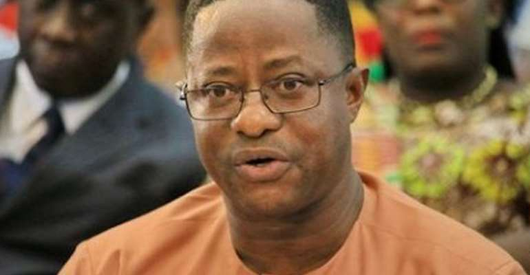 John Peter Amewu, Lands and Natural Resources Minister