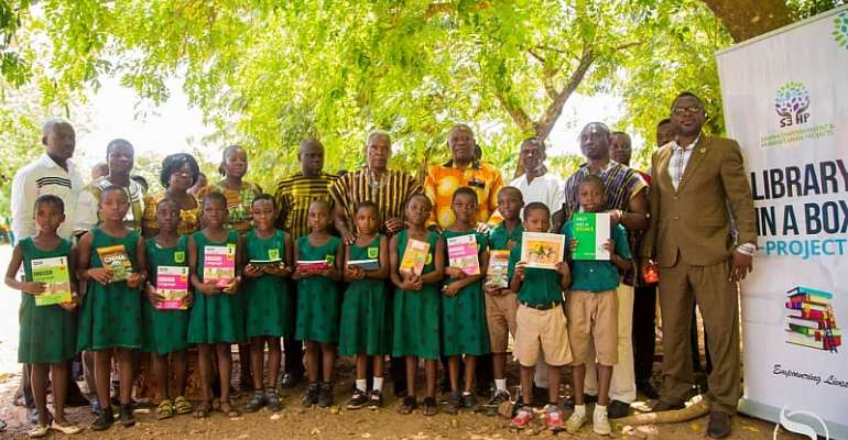 2nd Lady Samira's Library-In-A-Box Project Reaches Ho Cluster Of Schools