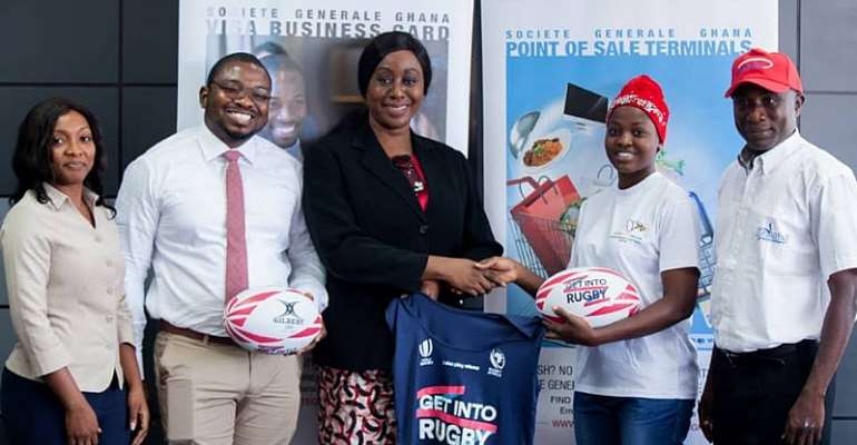 Societe Generale, Ghana Rugby To Build Character For Youth Together