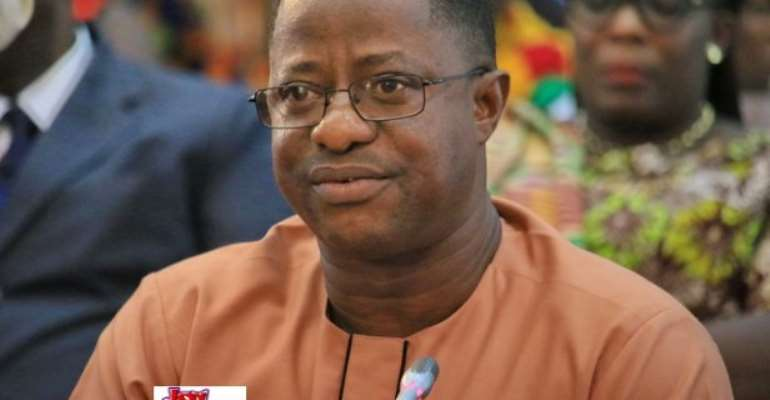 Peter Amewu is the Minister of Energy.