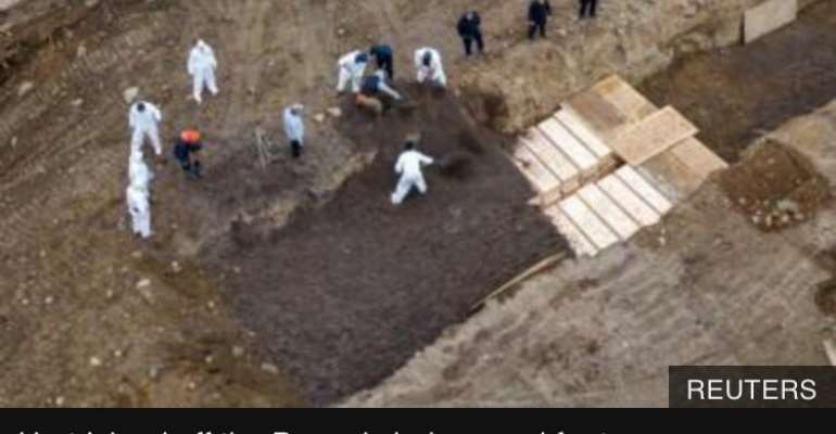 Covid-19: Mass Graves Dogged For Deaths In New York