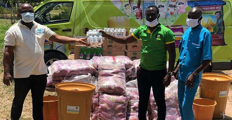 COVID19: Orkman Ghana Limited Donates Relief Items To 3 Orphanages Across Kasoa And Nsawam