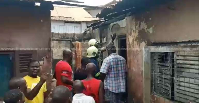 Fire Kills Mother, Two Children At New Takoradi On Good Friday