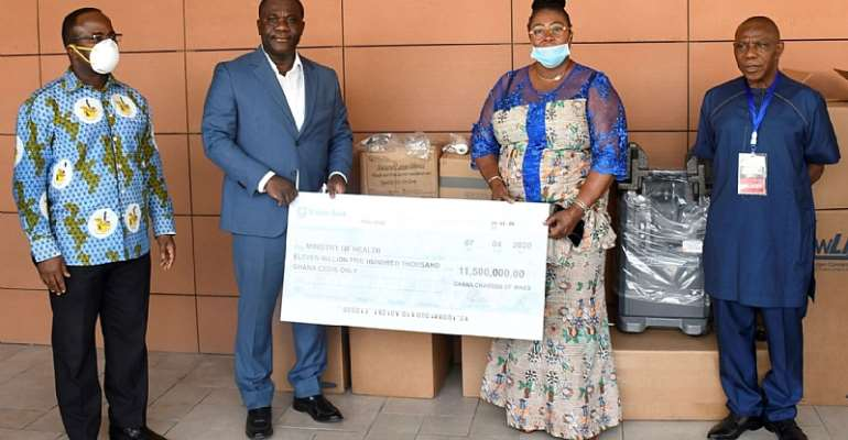 COVID-19 Fight: Chamber Of Mines Donate Ghc11.5million To Health Ministry