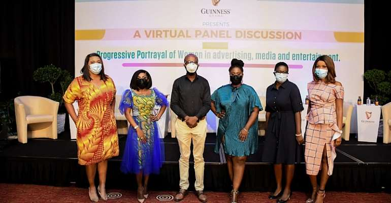 Guinness Ghana champions the Progressive Portrayal of Women in the Media, Advertising and Entertainment industry