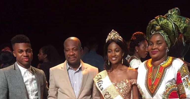 Meredith Sarpongmaa Agyin wins Miss Obaasima 2017