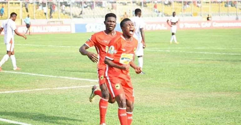 Kwame Bonsu Elated To Mark Injury Return With Win Over Ashantigold