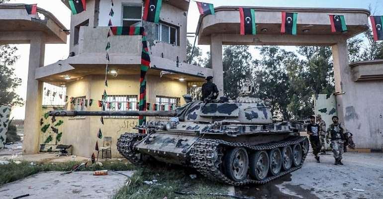 Photo: LNA War Information Division/AFP