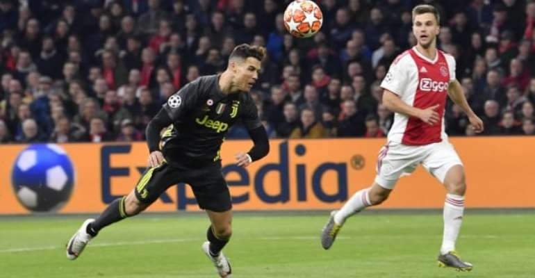 Ronaldo Scores 125th Champions League Goal As Ajax And Juventus Draw
