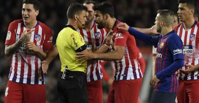 Diego Costa 'Handed EIGHT Game Ban For Referee Outburst'