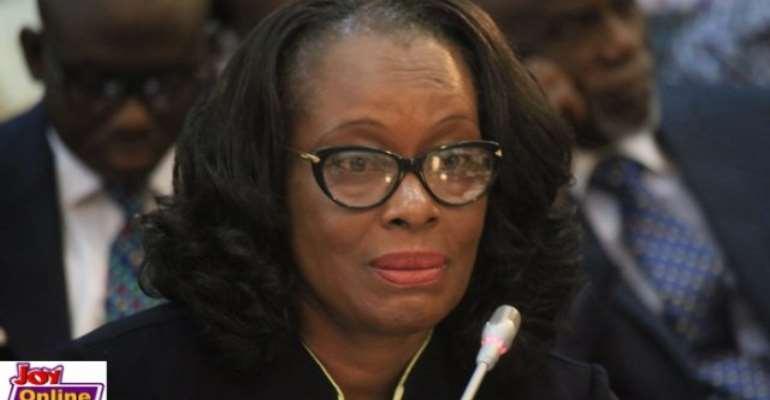 Gloria Akuffo is Attorney General.