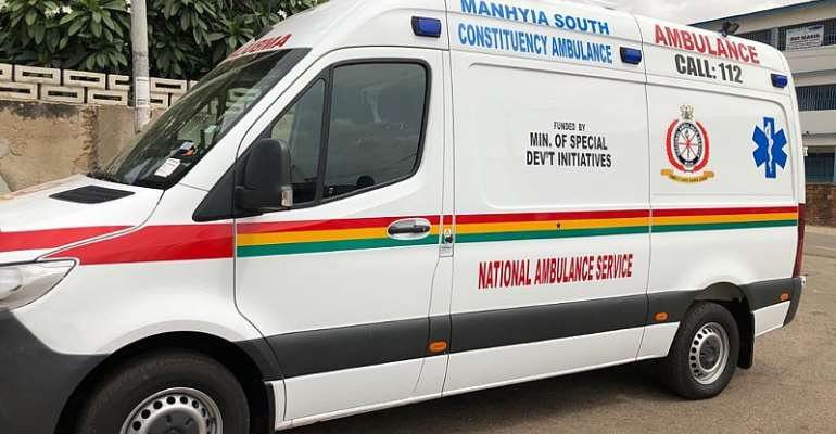 NAPO Promise Ambulance Bay For Manhyia South