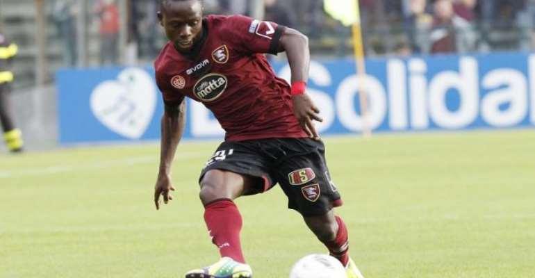 Ex-Ghana youth international Moses Odjer plays in Salernitana 1-0 win over Pisa