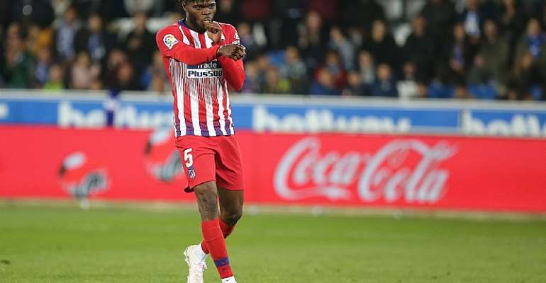 Partey Delighted To Score Against Deportivo Alaves