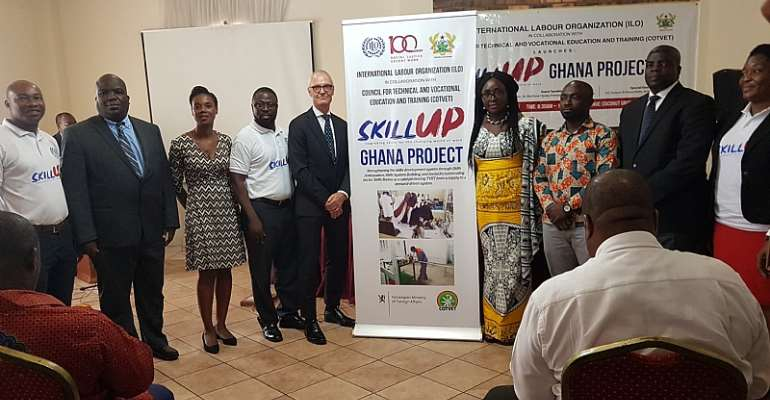 ILO Partner COTVET To Unveil Skill-UP Project For Skills Development