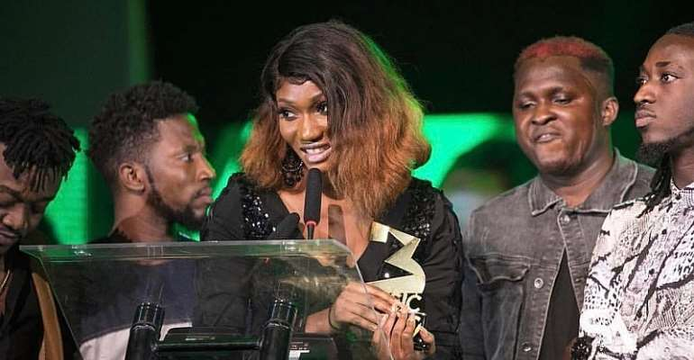 3Music Awards 2019: Wendy Shay Crowned Break Through Act of The Year