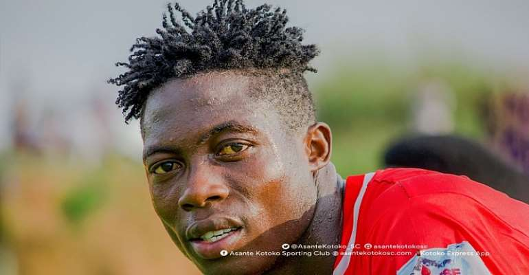 Justice Blay Vows Never To Play For Hearts of Oak