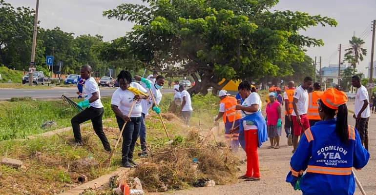 Covid-19: Sanitation Ministry To Hold Massive Clean-Up Exercise In Accra, Kumasi