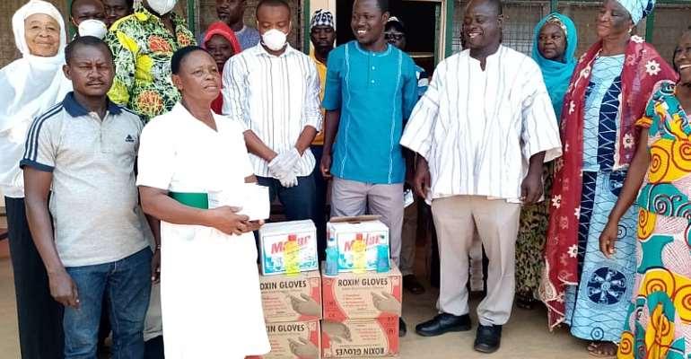 Dr. Richard Kuuire Donates To Nandom Health Directorate