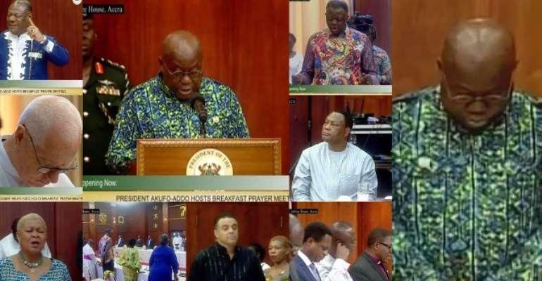 Akufo-Addo's Coronavirus Prayer Meeting