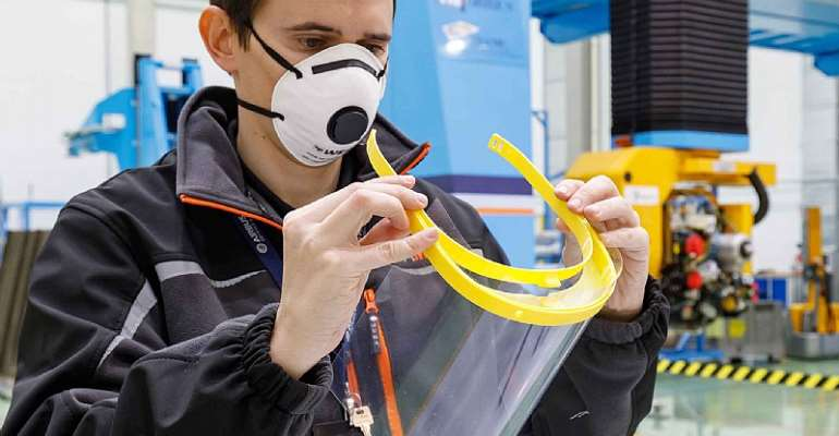 Airbus to produce 3D-printed hospital visors in fight against Covid19