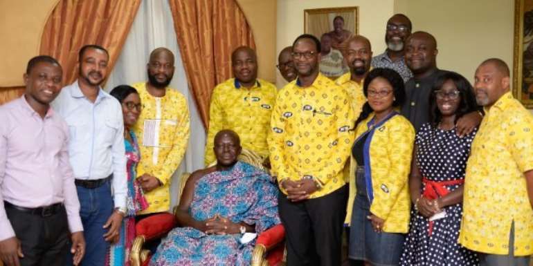 MTN Donates Ghc100k To Otumfuo's 20th Anniversary