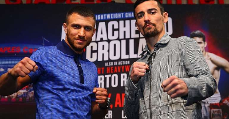 Vasiliy Lomachenko Versus Anthony Crolla Ghanaian Boxing Fans Have Interest…