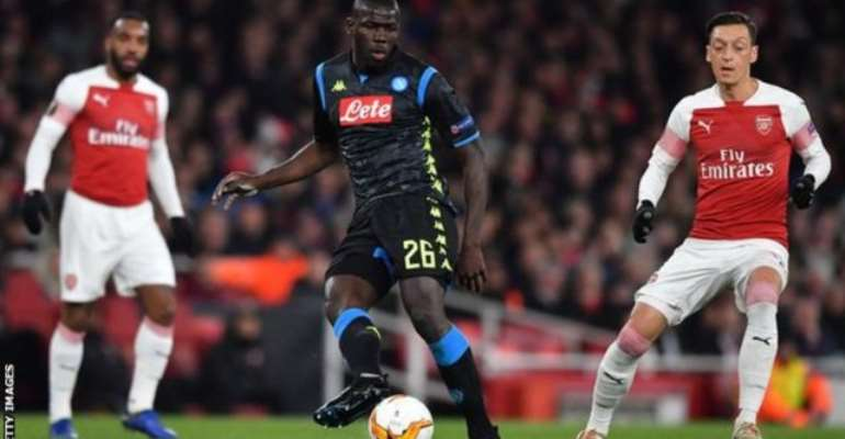 Arsenal Investigate Video Showing Racial Abuse Of Napoli's Koulibaly